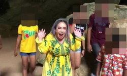 """แฉ """"ลีน่า จัง"""" อาศัยจังหวะ จนท.อุทยานฯ ช่วยนักท่องเที่ยว อัดคลิปล้อเด็กติดถ้ำ"""