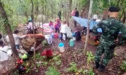 โดนทิ้งเหมือนผักปลา แรงงานกัมพูชา 22 ชีวิต ถูกหลอกมาทิ้งป่าลำปาง