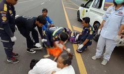 อุบัติเหตุสลด เด็ก 4 ขวบที่เคยพบกระเป๋ายาบ้า 4 หมื่นเม็ด ถูกรถชนตายจุดเดียวกัน