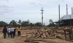 """ตรวจด่วน """"โรงงานไม้ยางพารา"""" หลังชาวบ้านร้องเรียนปล่อยมลพิษหลายปี"""