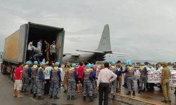 ทอ.จัดเครื่องบิน C-130 บินนำสิ่งของไปช่วย สปป.ลาว เขื่อนแตก
