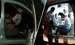 รอดหวุดหวิด! นายอำเภอกุยบุรี ขับรถหลับในตกถนนชนเสาไฟฟ้า ได้รับบาดเจ็บ
