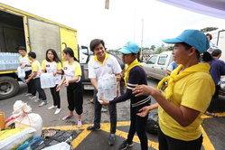 น้ำใจไทย!! ส่งต่อความช่วยเหลือสู่พี่น้องชาวลาวผู้ประสบภัยเขื่อนแตก