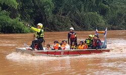 ลาวระดับน้ำท่วมลดลง ต้องการอาหาร-น้ำดื่ม ยอดสูญหาย 125 คน