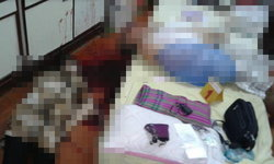 ฆาตกรรมเศร้า ตายายถูกยิงตายในบ้าน 2 ศพ ปืนตกอยู่ใต้เตียง