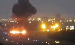 นาทีโศกนาฏกรรม เครื่องบินร่อนจอดกระแทกรันเวย์ที่บราซิล ระเบิดไฟลุกท่วม