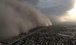 นาทีน่าเกรงขาม พายุทรายก่อตัวเป็นกำแพง ถาโถมใส่เมืองฟีนิกซ์