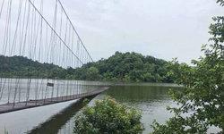 น้ำเขื่อนแก่งกระจานเพิ่ม ล่าสุด สะพานแขวนในอุทยานฯจมแล้ว