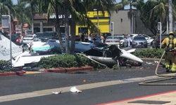 เครื่องบินตกกลางลานจอดรถในแคลิฟอร์เนีย ดับ 5 ราย