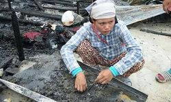 แล้วจะกินอะไรกัน แรงงานกัมพูชา เศร้าไฟไหม้ห้องพักสมบัติไม่เหลือสักชิ้น