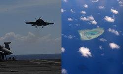 """หวิดยิง! จีนส่งวิทยุเตือนเครื่องบินทหารมะกัน """"ไสหัวด่วน"""" ขณะบินเหนือทะเลจีนใต้"""