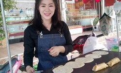 ชาวเน็ตแห่แชร์ ขนมโตเกียวคุณแม่เลี้ยงเดี่ยว ร่ำลือ แม่ค้าหน้าสวย-ขาวหมวย