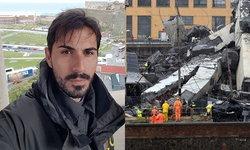 เปิดใจหนุ่มอิตาลีรอดตาย หลังร่วง 45 เมตร พร้อมรถคู่ใจ ขณะสะพานทางด่วนถล่ม