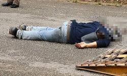 อุกฉกรรจ์-มือปืนจ่อยิ่งหัวคนงานปูยางถนน ตร.คาดปมขัดแย้งประมูลรับเหมา