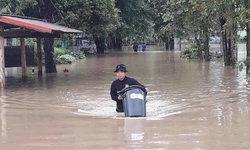 โดนหนัก! เชียงแสน-เชียงของ น้ำทะลักเข้าท่วม บ้านเรือน พื้นที่การเกษตรจม