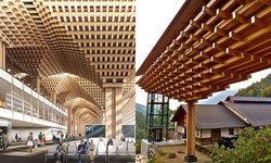 """ชาวเน็ตสงสัย """"เทอร์มินัล 2"""" สุวรรณภูมิ ยึดแรงบันดาลใจจากสะพานไม้ญี่ปุ่น"""