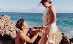 โรแมนติกมาก มิกกี้ คุกเข่าขอ เจนี่ แต่งงานริมทะเล