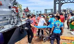 ระดมอาสาสมัครกู้ภัยกว่า 800 นาย เร่งค้นหาเหยื่อเรือล่มภูเก็ต