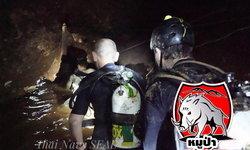 เผยเบื้องหลัง ช่วย 4 ชีวิตทีมหมูป่าออกถ้ำ ใช้นักดำน้ำ 90 คน ปฏิบัติการกว่า 7 ชั่วโมง