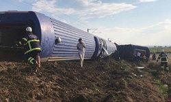 สลด รถไฟตุรกีประสบเหตุตกราง ดับ 10 ราย เจ็บอีกเกือบร้อย