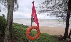 พังงาปักธงแดง หลังอุตุฯเตือนคลื่นลมแรงและฝนตกหนักภาคใต้