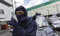 """มีครบทั้งดาบทั้งดาวกระจาย ญี่ปุ่นเปิดตัวแท็กซี่ """"นินจา"""" แถมบริการบอดี้การ์ด"""