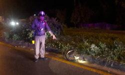 ชนปริศนา? หนุ่มลำปางเจ็บสาหัส หลังขี่จักรยานถูกรถชนปลิวไปตกบนพุ่มไม้