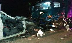 คนขับรถพ่วงเมายา ขับข้ามเลนประสานงารถกู้ชีพ ดับ 3 ศพ
