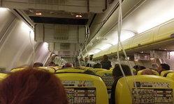 พิษแรงดันอากาศ 36,000 ฟุต ผู้โดยสารบนเครื่องบิน เจ็บ 33 ราย