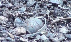 """วิศวกรหนุ่มพบวัตถุต้องสงสัย-หน่วย EOD รุดตรวจสอบพบเป็นระเบิด """"เอ็ม 26"""" พร้อมใช้งาน"""