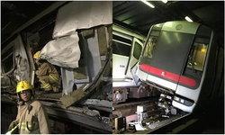 รถไฟใต้ดินฮ่องกงชนประสานงา ไร้ผู้โดยสารเจ็บ สั่งปิดกระทบชั่วโมงเร่งด่วน