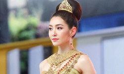 """""""เบลล่า ราณี"""" สวยสง่าในชุดไทย ถูกเนรมิตเป็นนางสงกรานต์ สะกดจิตชวนหลงใหลที่สุด"""