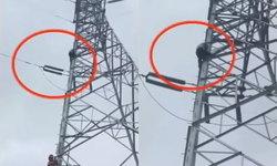 พ่อแม่ไม่ซื้อมือถือให้ อาตี๋วัย 12 ปีนเสาไฟฟ้าแรงสูง 20 เมตร ขู่ฆ่าตัวตาย
