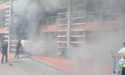 ด่วน! ไฟไหม้โรงพยาบาลมหาชัยเพชรรัชต์ อพยพผู้ป่วยหนีชุลมุน