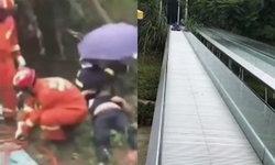 ช็อก เด็ก-ผู้ใหญ่พลัดตกสไลเดอร์สวนสนุกในจีน ดับ 2 เจ็บ 12