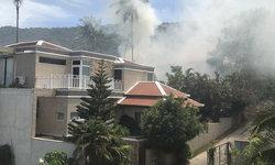 ไฟไหม้บ้านหรูราคา 30 ล้าน โชคดีสามารถควบคุมได้ทันก่อนได้รับความเสียหาย