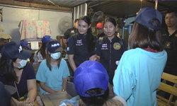 บุกจับร้านคาราโอเกะเมียดาบตำรวจ ลอบค้ากามเด็กสาวอายุไม่เกิน 18 ปี