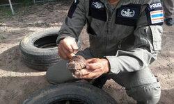 หวิดดับ! หนุ่มใหญ่วัย 50 ปี ขุดดินเจอระเบิดสังหาร รีบแจ้ง EOD เก็บกู้ทำลาย
