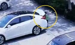 สลด เด็กชาย 7 ขวบ ปีนเข้ากระโปรงหลังรถ เผลอปิดขังตัวเองจนตาย (คลิป)