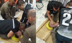 """""""พ.ต.ท.""""ทำ CPR ช่วยลูกน้องวูบหมดสติกลางโรงพัก แต่สุดยื้อไปเสียชีวิตที่รพ."""