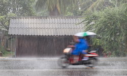 อุตุฯ ออกประกาศเตือน 25-27 มิ.ย. ฝนตกหนักเพิ่มทั่วประเทศ