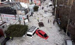 เม็กซิโกอากาศแปรปรวนหนัก พายุหิมะ-ลูกเห็บ ถล่มเมืองกลางฤดูร้อน