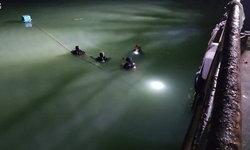 วุ่นทั้งอำเภอ หนุ่มสาวทะเลาะกันโดดลงทะเลทั้งคู่ สุดท้ายกู้ภัยงมหาเก้อ