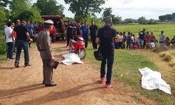 ฆ่าโหดยิงเผาขน 2 ศพ หนุ่มโรงสีกับหนุ่มเพิ่งพ้นโทษคดียาเสพติด
