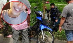ค้นหาหนุ่มหน้าตาดีวัย 19 ปี พบเพียงมอเตอร์ไซค์คู่ใจจมใต้คลองชลประทาน