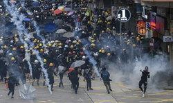"""สถานกงสุลฯ เตือนคนไทยจับตา """"ประท้วงฮ่องกง"""" รวมตัวอีก 17-18 ส.ค.นี้"""
