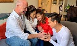 """""""แอน สิเรียม"""" รับไหว้ว่าที่ลูกเขย """"น้องนนนี่"""" บอกแม่พร้อมมีครอบครัวแล้ว"""