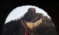 จีนสร้างบันไดเลื่อนสูงเท่าตึก 15 ชั้น ติดสถานีรถไฟใต้กำแพงเมืองจีน