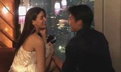 """ขอแต่งงาน? """"หมาก-คิม"""" ฉลองรัก 6 ปี หวานหยดมดขึ้นโรแมนติกมาก"""
