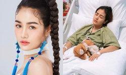"""""""แม่กระแต อาร์สยาม"""" สุดห่วง หลังลูกสาวเจ็บหน้าอกหนักต้องเข้ารับการผ่าตัดด่วน"""